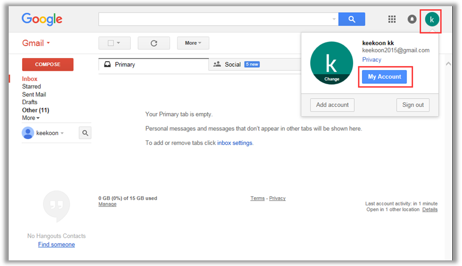 How to set up camera's E-mail settings - Gmail | Keekoon - A